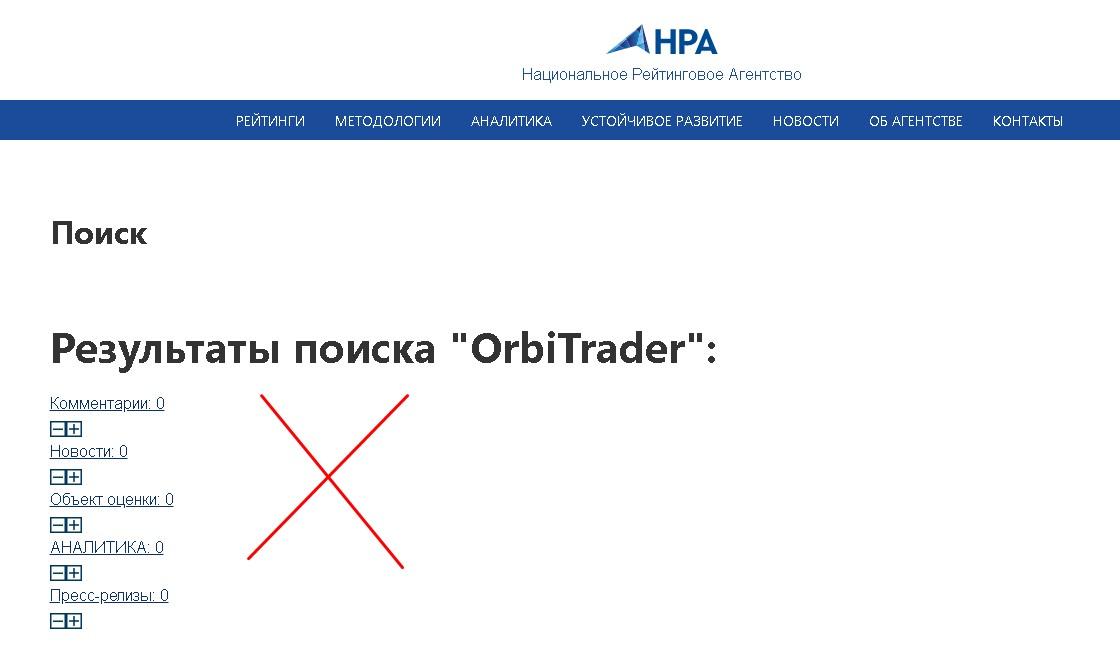 OrbiTrader НРА