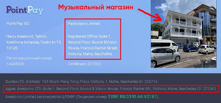 PointPay-адреса