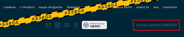 Web Token Profit лицензия-1