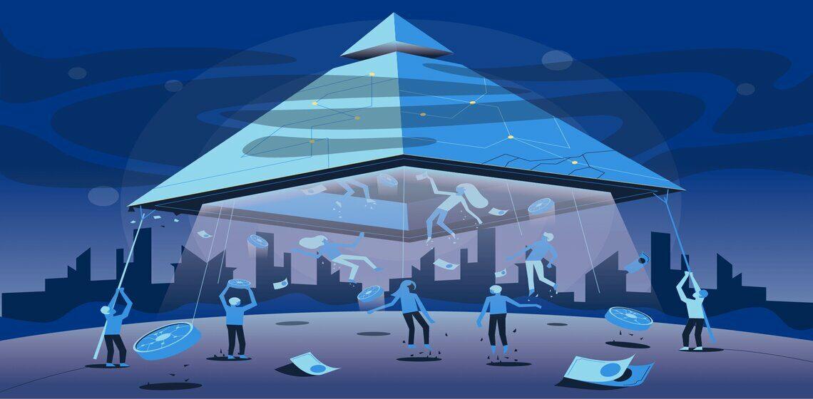 Принцип работы финансовой пирамиды