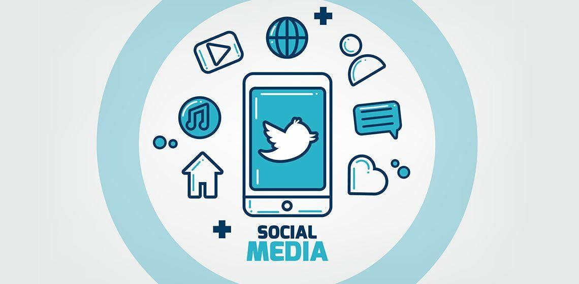 Социальные медиа Твиттер