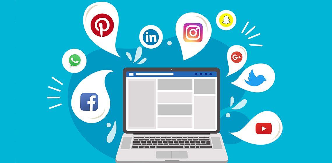 Социальные сети в ноутбуке