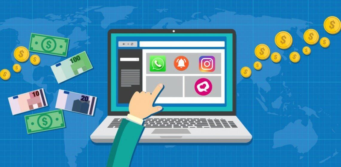 Заработок в Интернете через соцсети