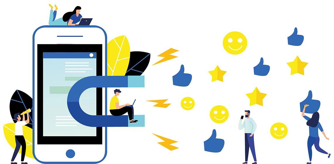 Маркетологи привлекают клиентов и лайки