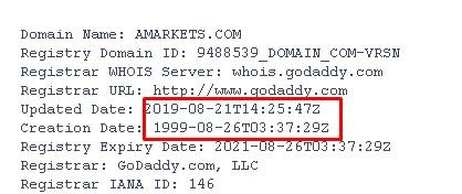 один из доменов amarkets.com