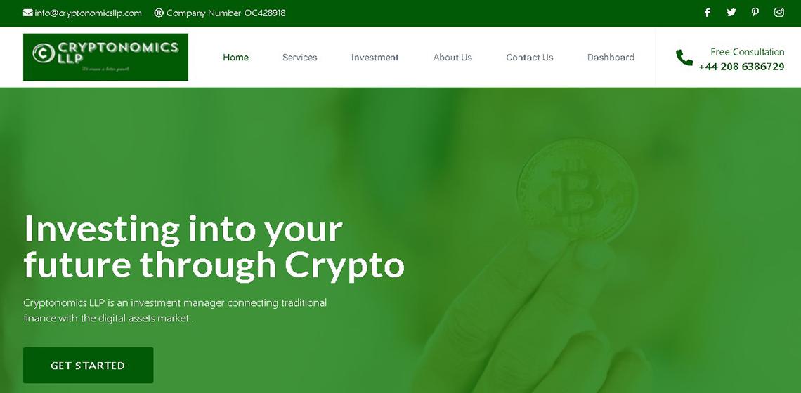 настоящая компания, под названием Cryptonomics LLP