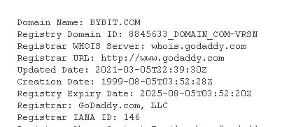 домен сайта байбит.ком
