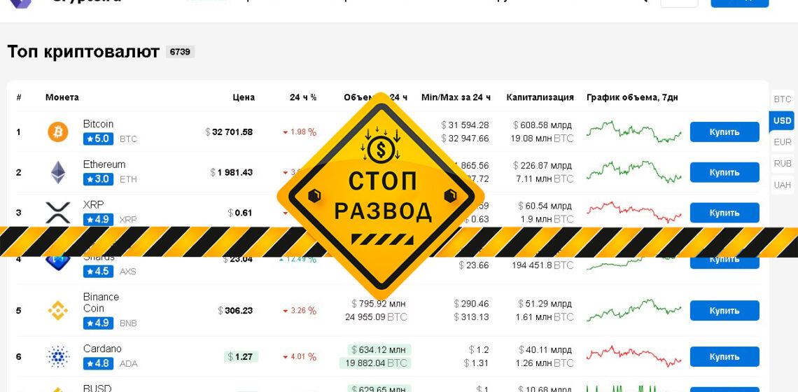 главная страница crypto.ru